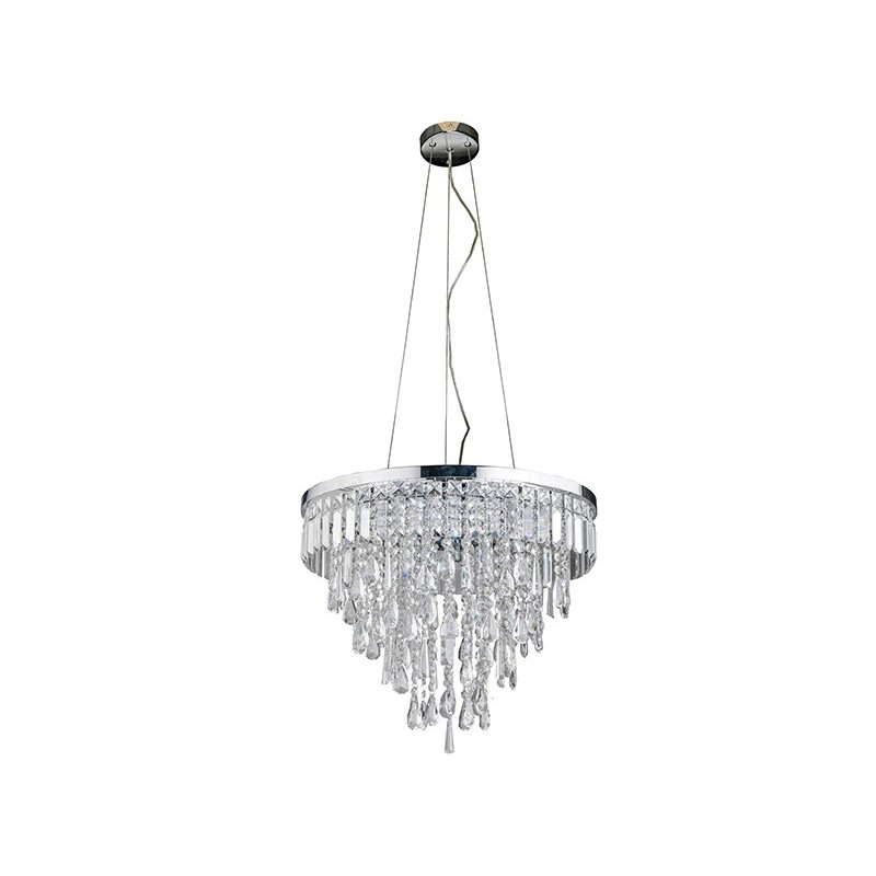 Duża lampa wisząca kryształowa KALABRIA XL AZ2926 - Azzardo