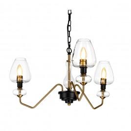 Stylowa lampa wisząca - DL-ARMAND3-AB - Elstead Lighting