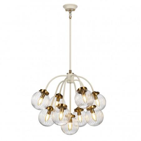 Retro lampa wisząca - DL-COSMOS9 - Elstead Lighting