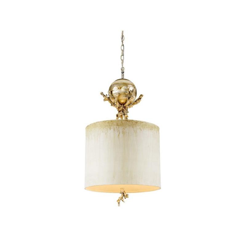 Gustowna lampa wisząca - FB-TRELLIS-P - Flambeau