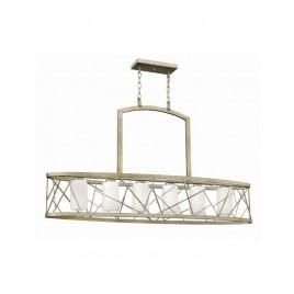 Lampa wisząca - HK-NEST6-ISLE-SL - Hinkley