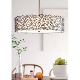 Lampa wisząca - KL-SILVER-CORAL-P-B - Kichler
