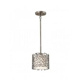 Niewielka lampa wisząca - KL-SILVER-CORAL-MP - Kichler
