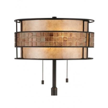 Lampa stojąca - QZ-LAGUNA-FL-A - Quoizel
