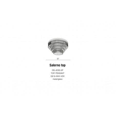 Plafon kryształowy SALERNO AZ2107 - Azzardo