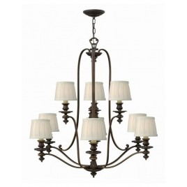 Klasyczna lampa wisząca - HK-DUNHILL9 - Hinkley