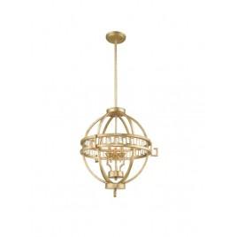 Wyjątkowa lampa wisząca - GN-LEMURIA-3P-A - Gilded Nola