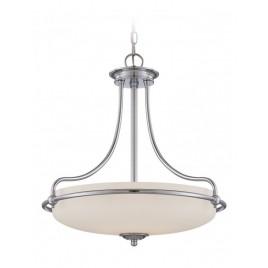 Lampa wisząca - QZ-GRIFFIN-P-C - Quoizel
