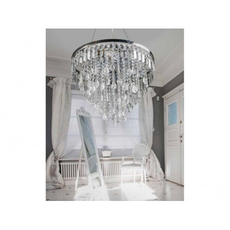Lampa wisząca kryształowa KALABRIA AZ2108 - Azzardo