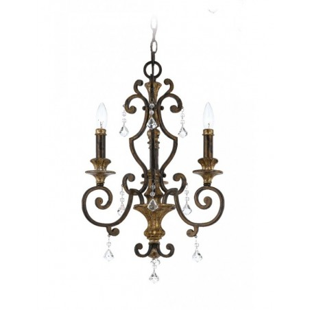 Bajkowa lampa wisząca - QZ-MARQUETTE3 - Quoizel