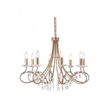 Luksusowy żyrandol - CHRISTINA CRT8 - Elstead Lighting
