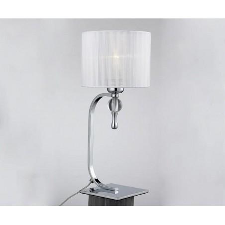Lampa stołowa - IMPRESS TABLE AZ1107 BIAŁA- Azzardo
