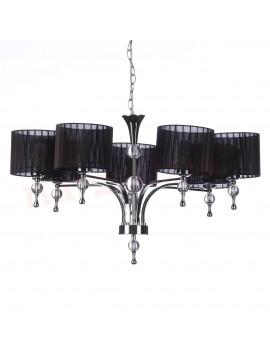 Interesująca lampa wisząca - IMPRESS 7 AZ0500 CZARNA - Azzardo
