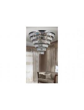Duży plafon kryształowy SALERNO XL AZ2927 - Azzardo