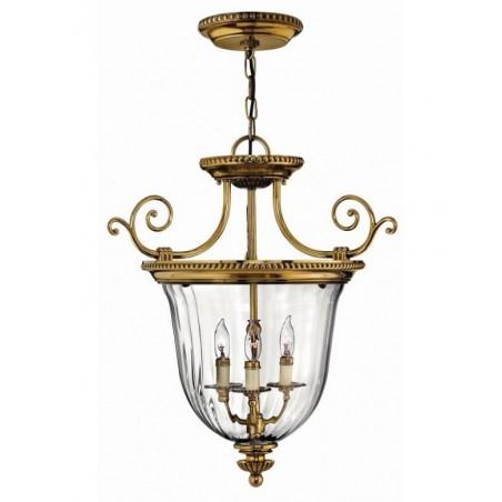 Rustykalna lampa wisząca - HK-CAMBRIDGE-P-S - Hinkley