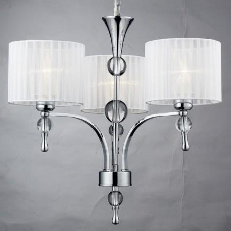Zgrabna lampa wisząca - IMPRESS 3 AZ1006 BIAŁA - Azzardo