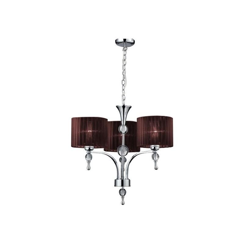 Zgrabna lampa wisząca - IMPRESS 3 AZ2900 BRĄZOWA - Azzardo