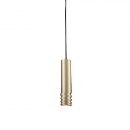 Mała lampa wisząca - LOCUS L PENDANT AZ3130 SZAMPAŃSKA - Azzardo
