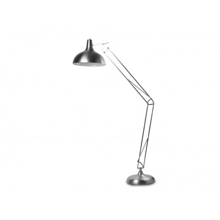 Duża lampa stojąca - GUNNAR AZ1027 CHROM - Azzardo
