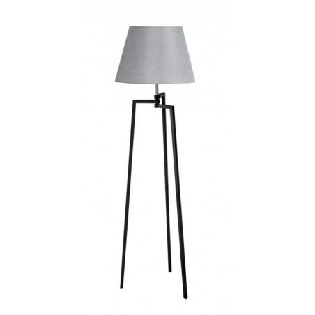 Lampa stojąca - TRISTAN ROUND AZ3329+AZ3015 SZARA - Azzardo