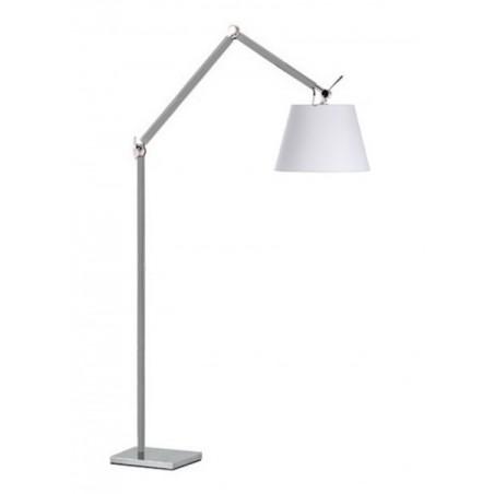 Lampa stojąca - ZYTA FLOOR ALU AZ2310+AZ2605 BIAŁA - Azzardo