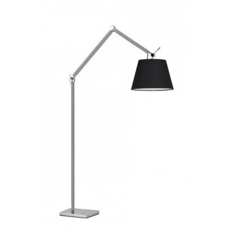Lampa stojąca - ZYTA FLOOR ALU AZ2310+AZ2603 CZARNA - Azzardo