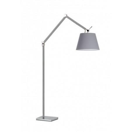 Lampa stojąca - ZYTA FLOOR ALU AZ2310+AZ2604 SZARA - Azzardo
