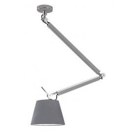Lampa wisząca - ZYTA M PENDANT ALU AZ2304+AZ2604 SZARA - Azzardo