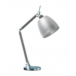 Lampa stołowa - ZYTA S TABLE ALU AZ2307+AZ2593 ALUMINIUM - Azzardo