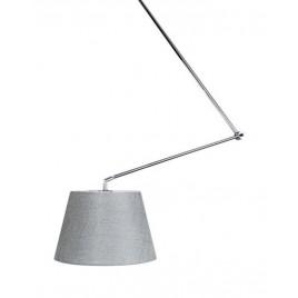 Piękna lampa wisząca - ADAM S AZ1841+AZ2583 SZARA - Azzardo