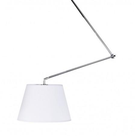 Piękna lampa wisząca - ADAM S AZ1841+AZ2588 BIAŁA - Azzardo