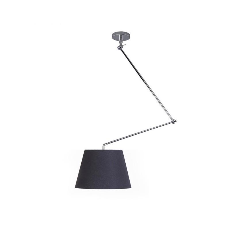 Piękna lampa wisząca - ADAM S AZ1841+AZ2596 CZARNA - Azzardo