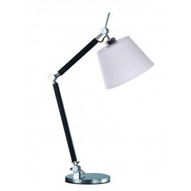 Niebanalna lampa stołowa - ZYTA S TABLE AZ1848+AZ2593 ALUMINIUM - Azzardo