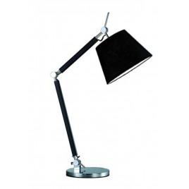 Niebanalna lampa stołowa - ZYTA S TABLE AZ1848+AZ2597 CZARNA - Azzardo