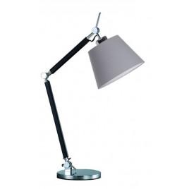 Niebanalna lampa stołowa - ZYTA S TABLE AZ1848+AZ2598 SZARA - Azzardo