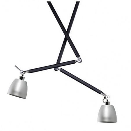 Oryginalna lampa wisząca - ZYTA 2S PENDANT AZ1846+AZ2594 ALUMINIUM - Azzardo