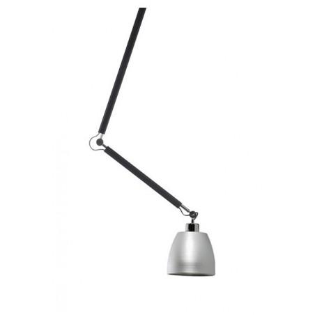 Niesztampowa lampa wisząca - ZYTA S PENDANT AZ1845+AZ2594 ALUMINIUM - Azzardo