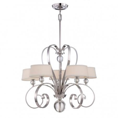Dekoracyjna lampa wisząca - QZ-MADISON-MANOR5-IS - Quoizel