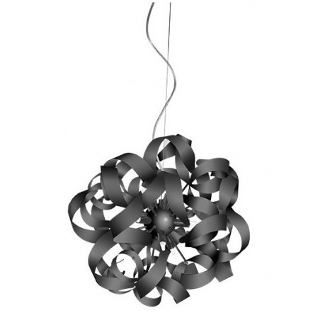 Lampa wisząca - DELTA AZ1693 OXIDE BLACK - Azzardo