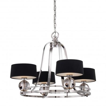 Wykwintna lampa wisząca - QZ-GOTHAM4 - Quoizel