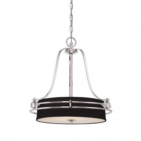 Elegancka lampa wisząca - QZ-GOTHAM-P - Quoizel