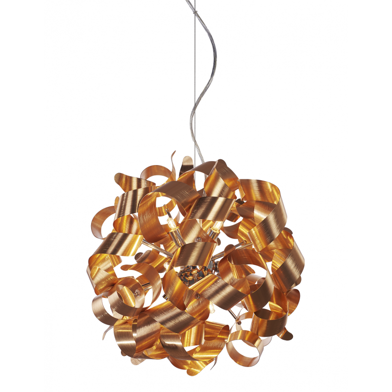 Lampa wisząca - DELTA AZ1694 OXIDE COPPER - Azzardo