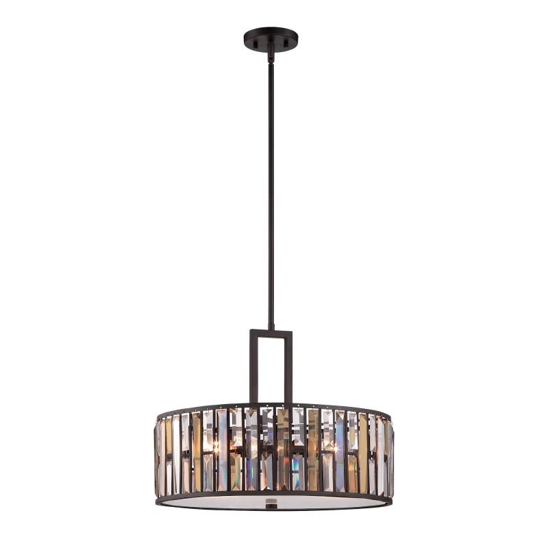 Przepiękna lampa wisząca - HK-GEMMA-P-C-VBZ - Hinkley